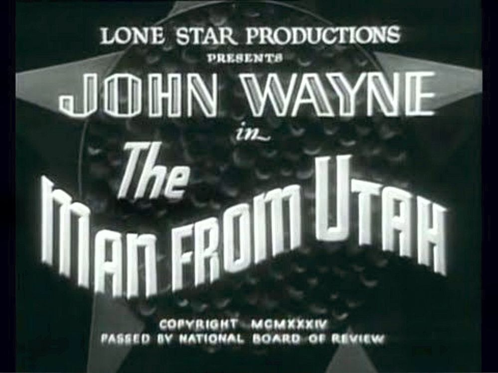 The Man from Utah 2