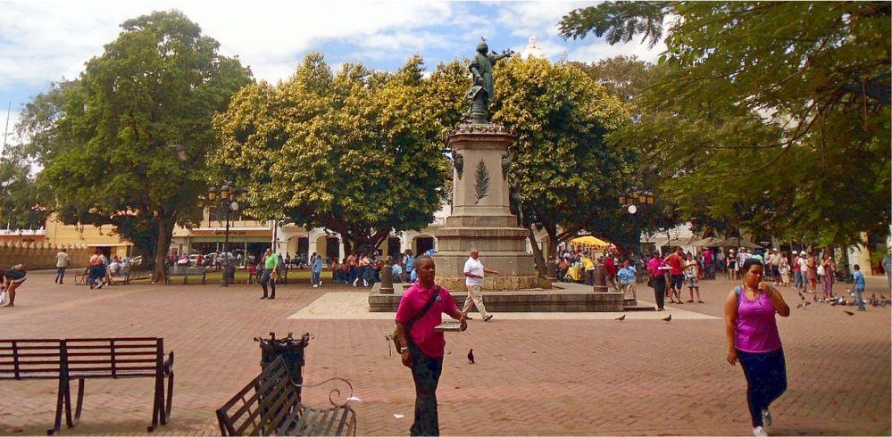 Downtown Santo Domingo Columbus Park