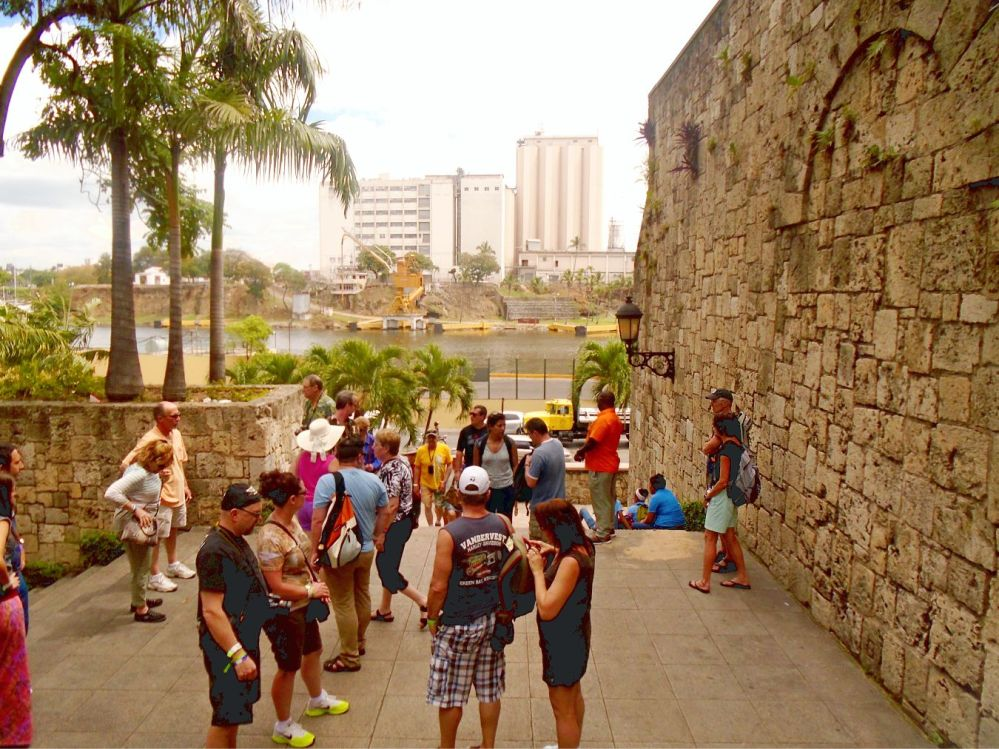 Downtown Santo Domingo rally point