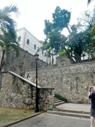 Downtown Santo Domingo stairs