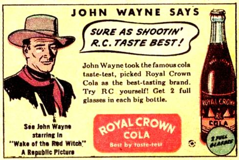 john wayne rc cola