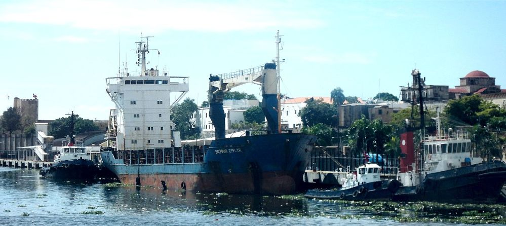 Santo Domingo ship