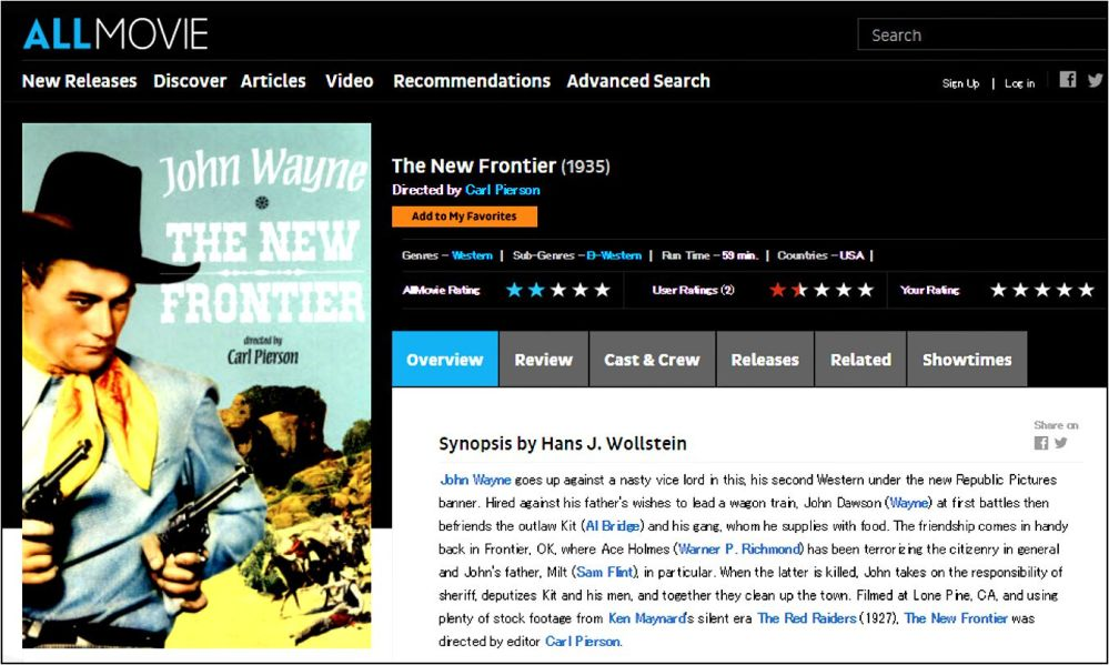 The New Frontier review