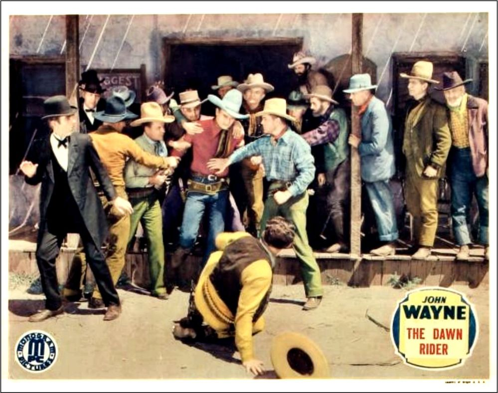 The Dawn Rider lobby card 2