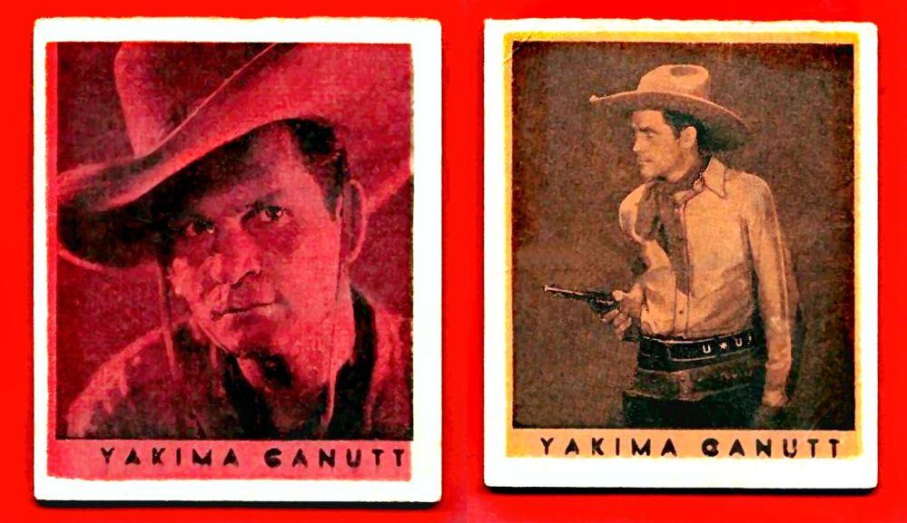 YAKIMA CANUTT cards