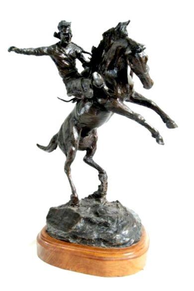 YAKIMA CANUTT sculpture