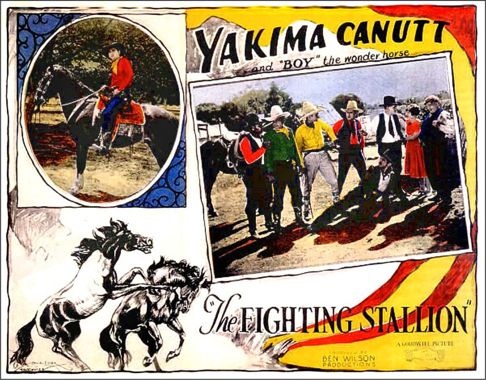 YAKIMA CANUTT The Fighting Stallion