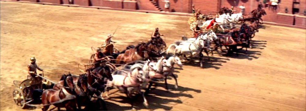 Ben Hur - chariot race 1959 4