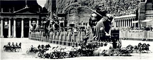 Ben Hur - chariot race 1959 5