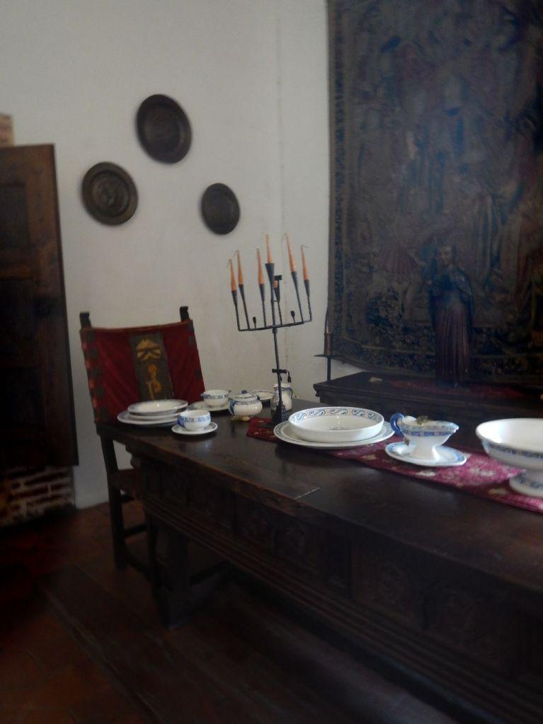 Columbus House tableware