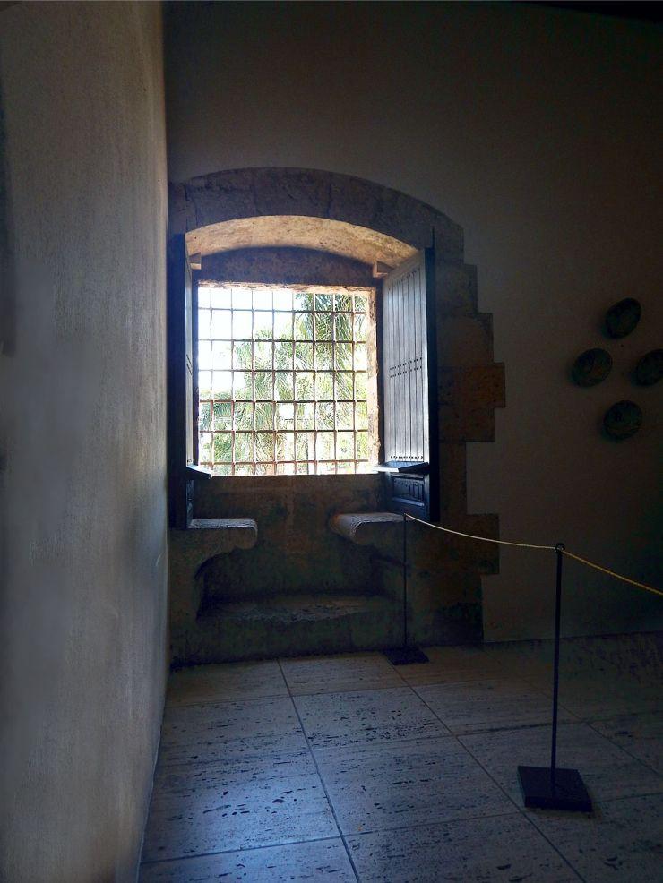 Columbus House window