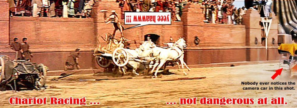 Joe Cannutt Ben Hur stunt