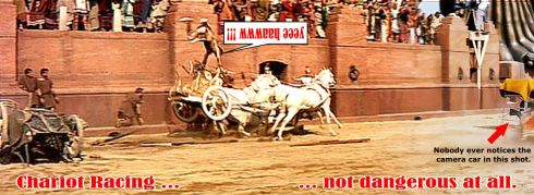 Joe Cannutt Ben Hur stunt