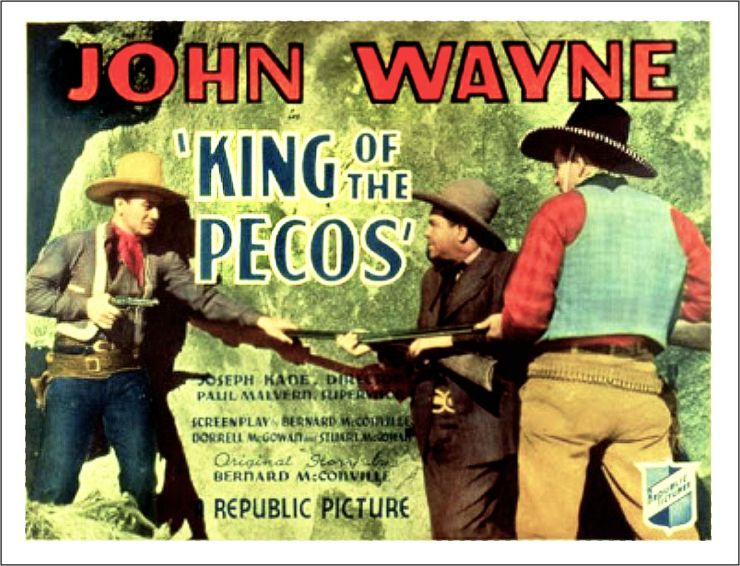 King of the Pecos lobby card 1