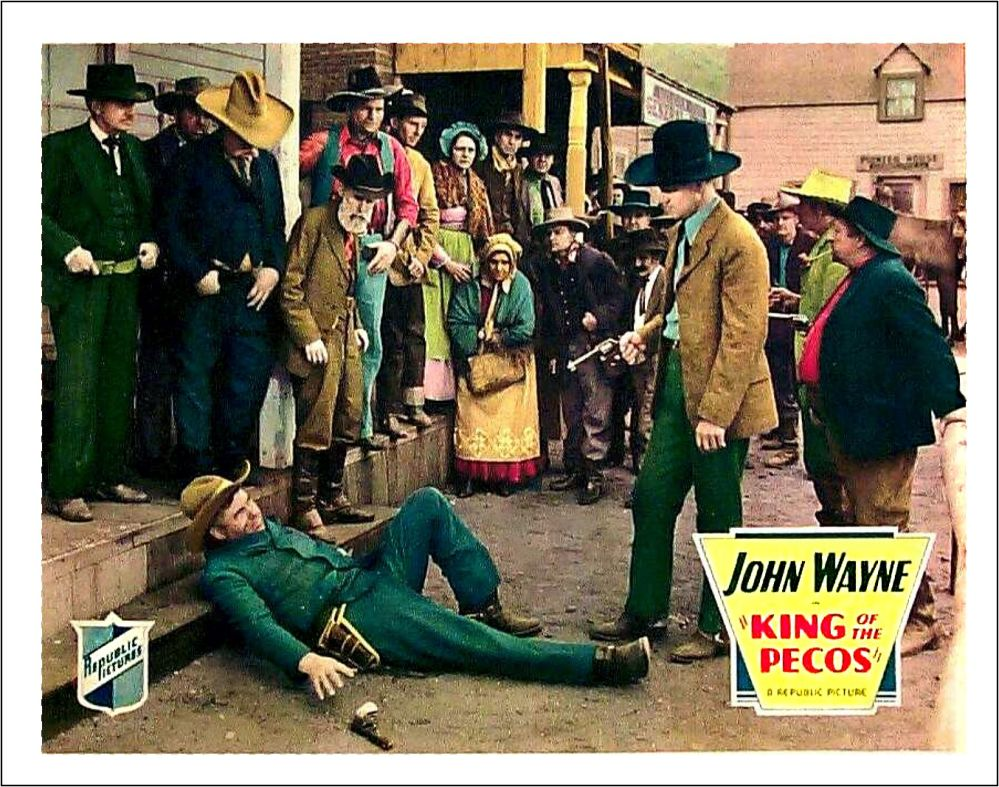 King of the Pecos lobby card 2