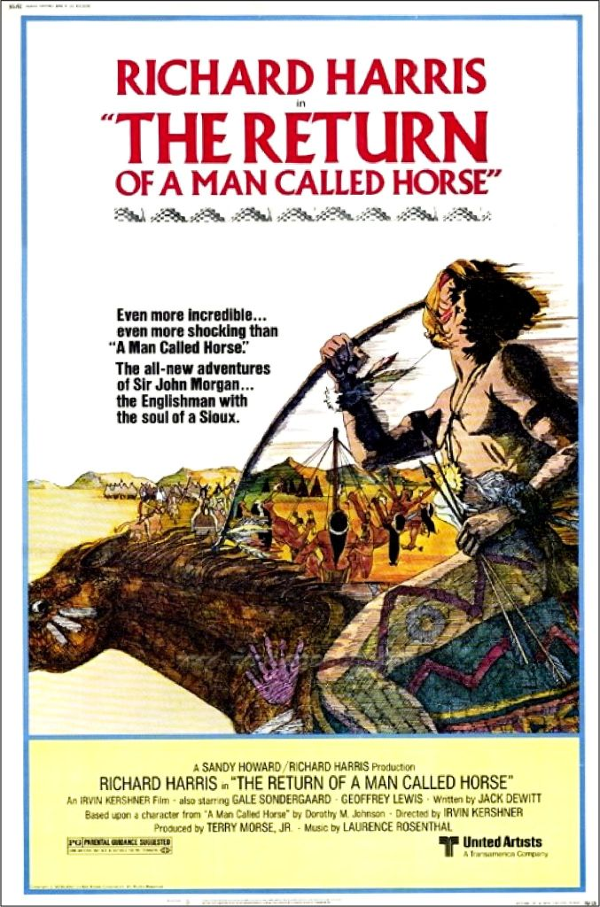 Return of Man Named Horse poster 1