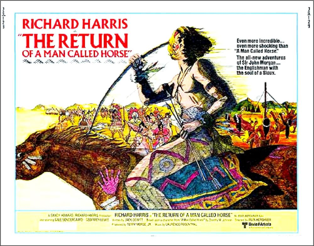 Return of Man Named Horse poster 2