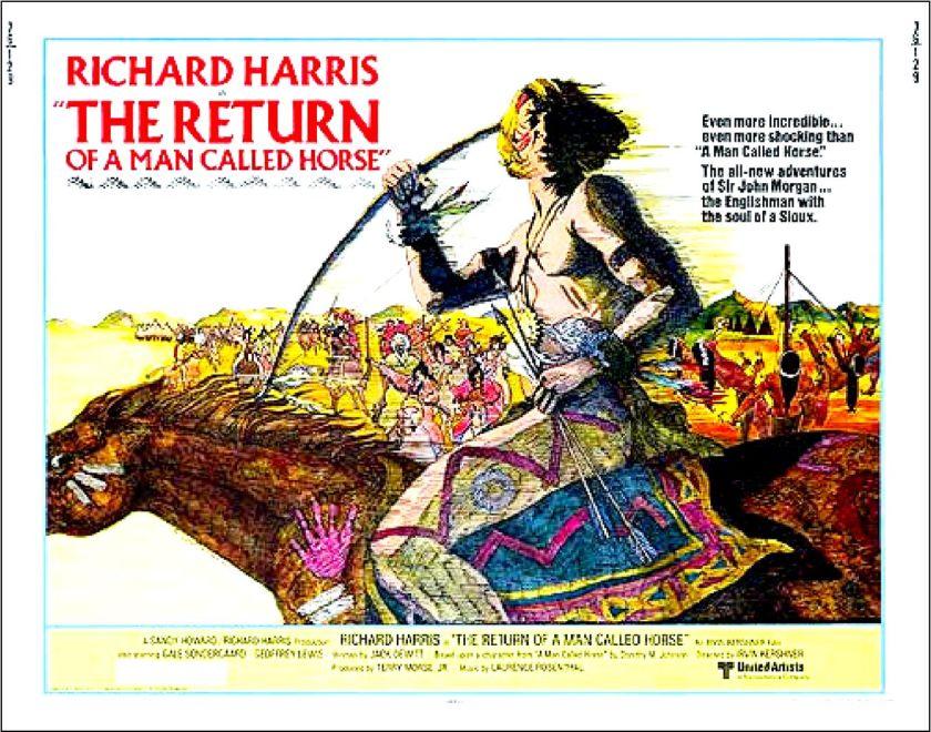 Return of Man Named Horse poster 2
