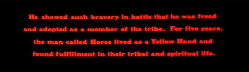 Return of Man Named Horse screen cap 7