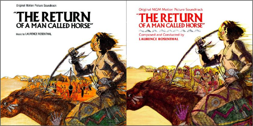 Return of Man Named Horse sound track
