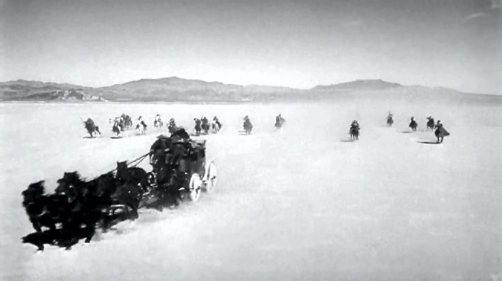 STAGECOACH opening scenes