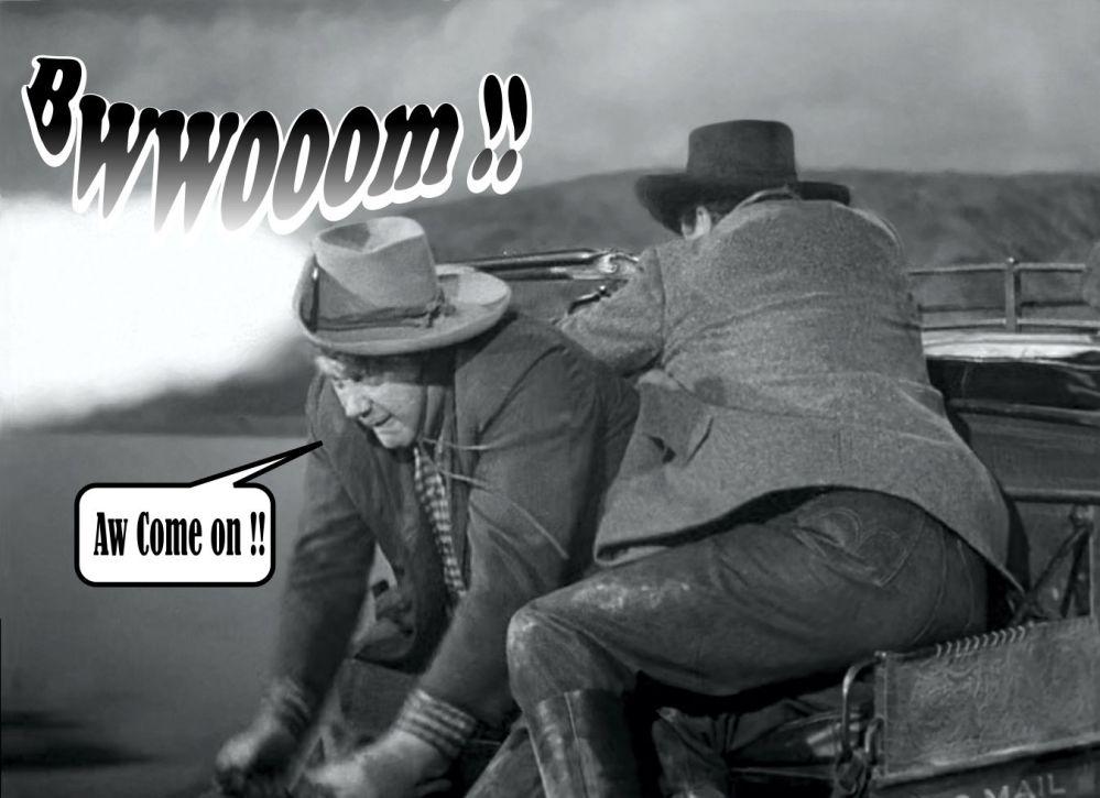 STAGECOACH shotgun blast 3