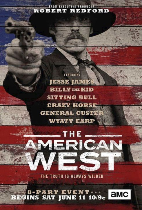 THE AMERICAN WEST poster