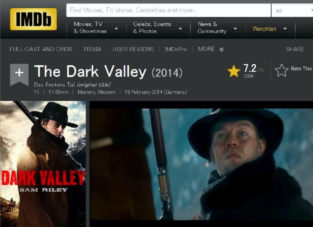 The Dark Valley 3