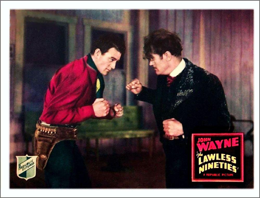 The Lawless Ninties 1936 lobby card 2