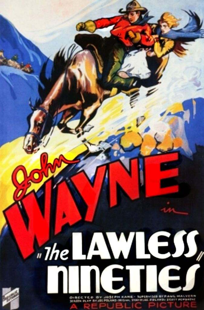 The Lawless Ninties 1936 poster