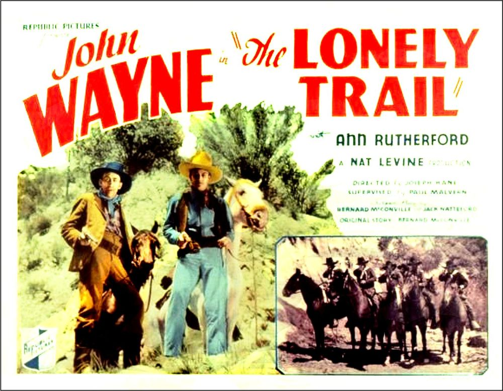 The Lonely Trail lobby poster 2