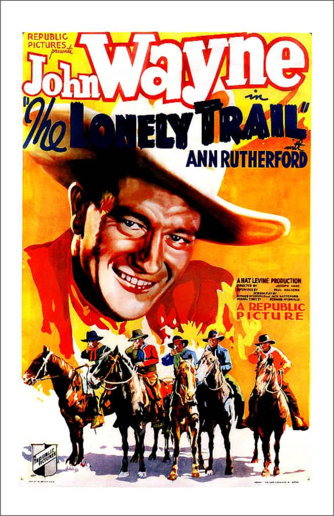 The Lonely Trail poster 2