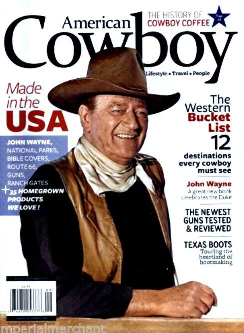 John Wayne American Cowboy Magazine 2