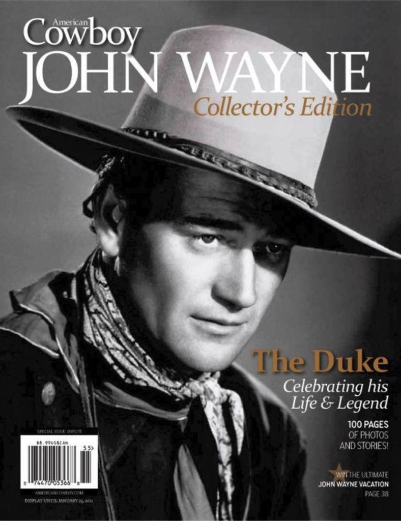 John Wayne American Cowboy Magazine