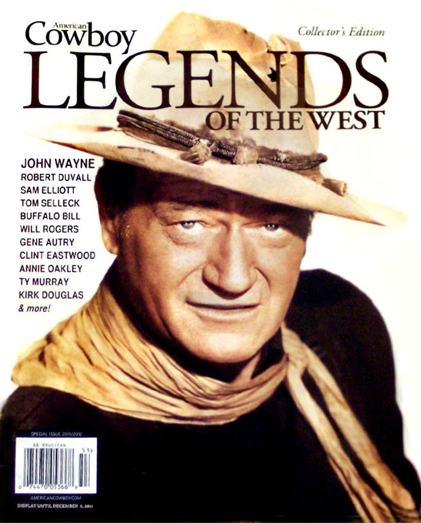 John Wayne Cowboy Legends Magazine