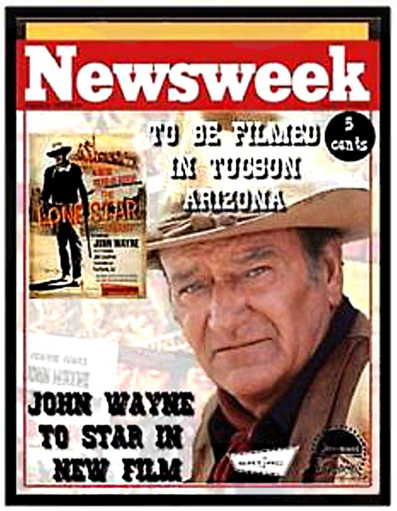 John Wayne Newsweek Magazine