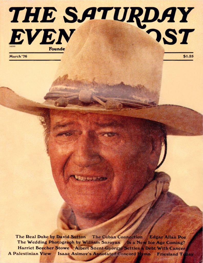 John Wayne Saturday Evening Post 2