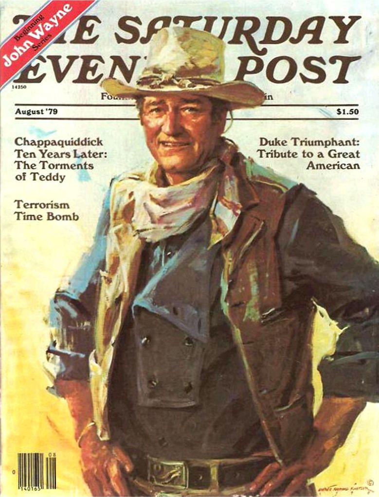 John Wayne Saturday Evening Post