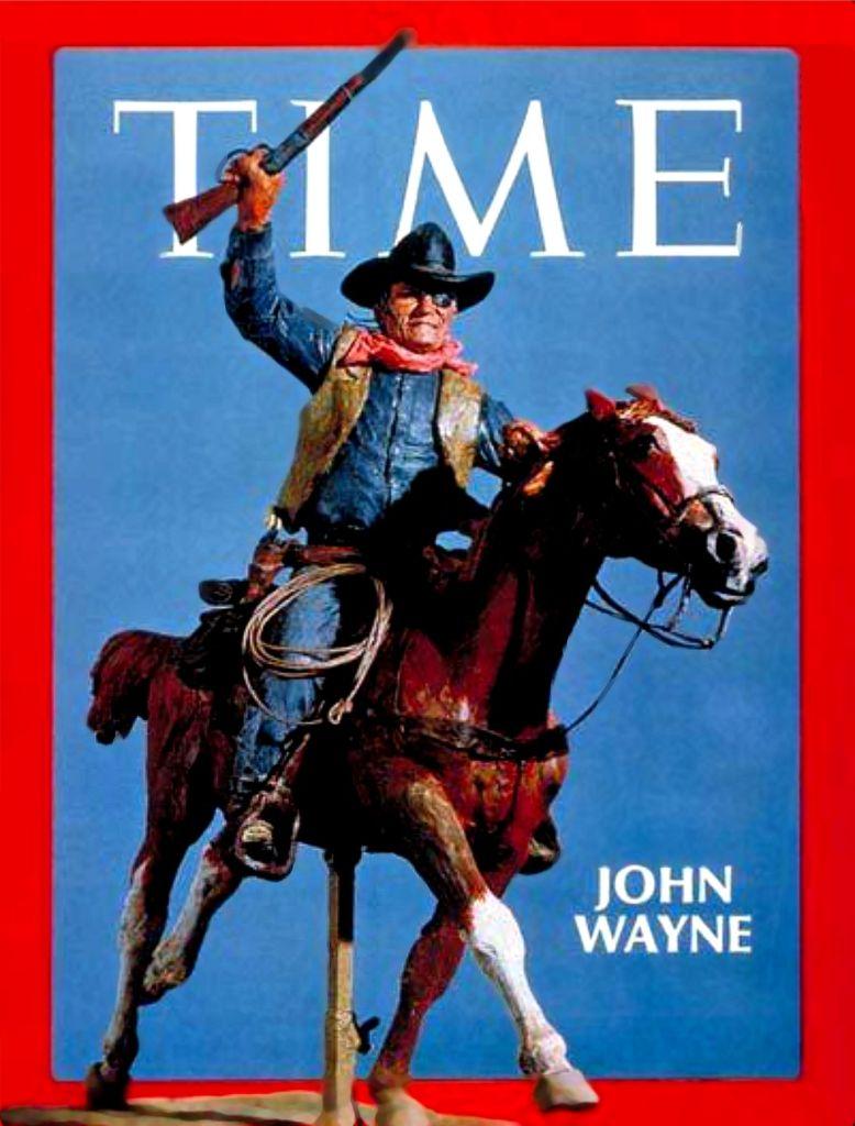 John Wayne Time Magazine
