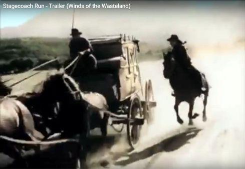Stagecoach Run Yakima Canutt stunt 1