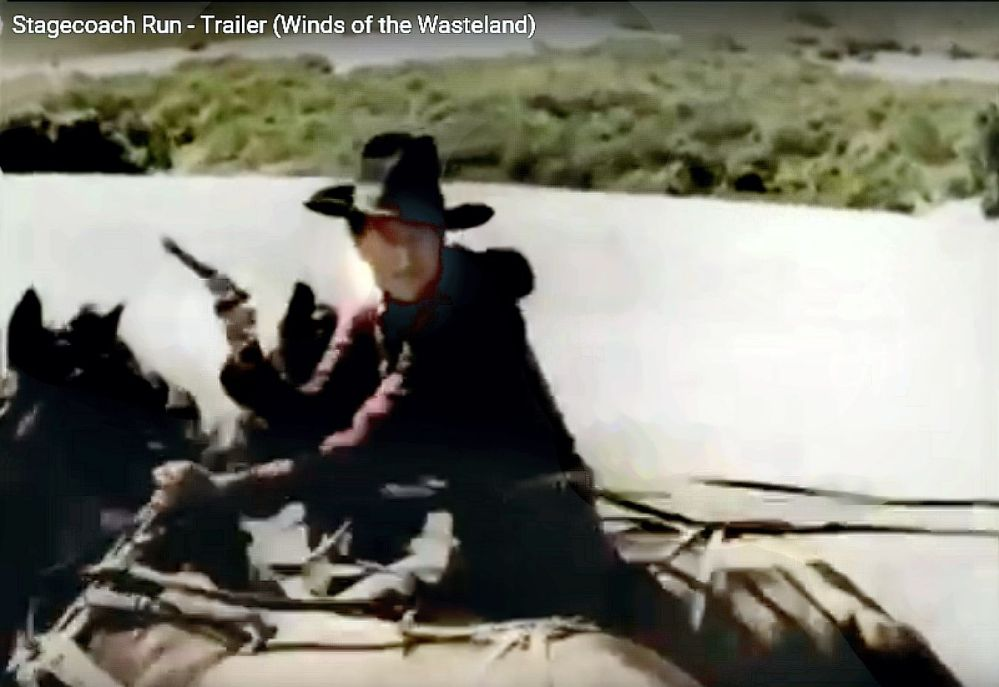 Stagecoach Run Yakima Canutt stunt 13
