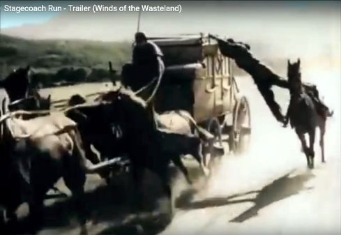 Stagecoach Run Yakima Canutt stunt 3