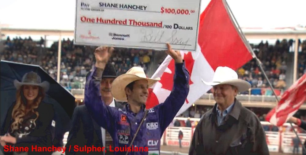 Stampede 2016 Shane Hanchey