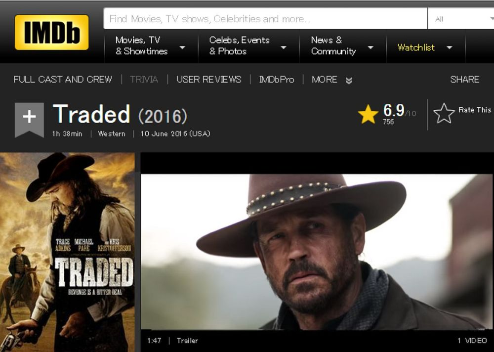 Traded IMDB review