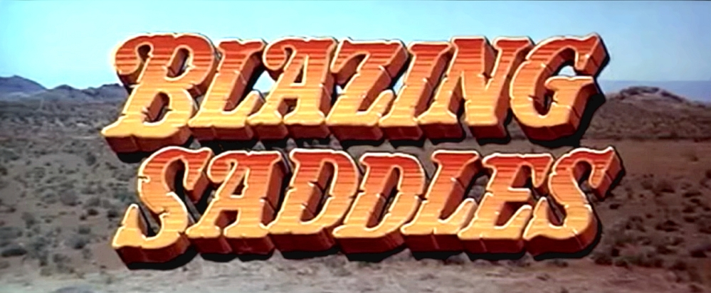 Blazing Saddles banner