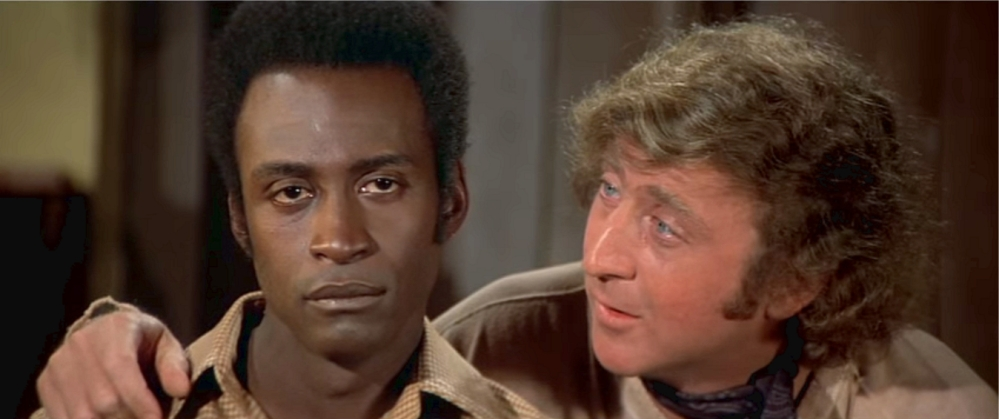 Blazing Saddles Cleavon Little and Gene Wilder