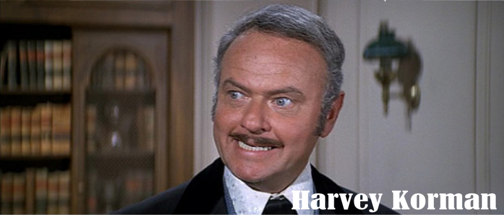 Blazing Saddles Harvey Korman