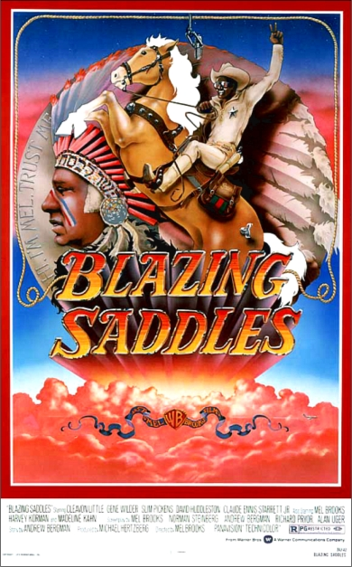 Blazing Saddles poster 1
