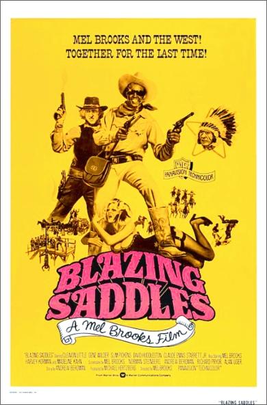 Blazing Saddles poster 2