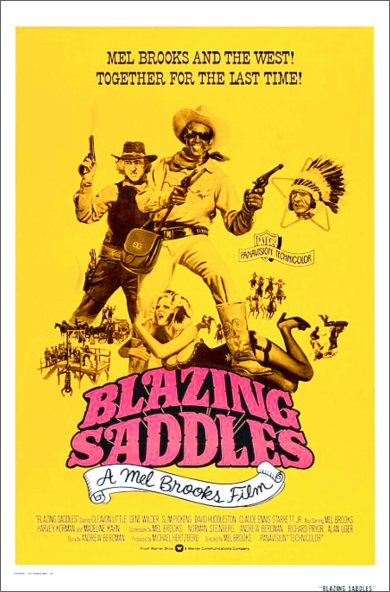 Blazing Saddles poster 2